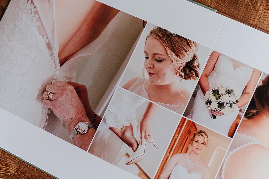 Fine Art Wedding Album Pages
