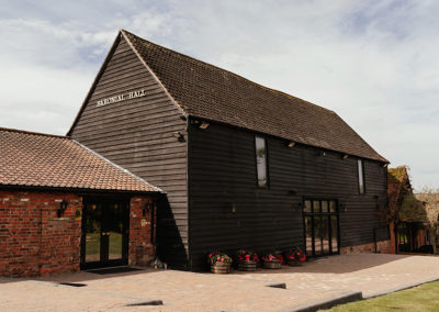 Photo of Outside of Crondon Park Barn Wedding Venue Essex