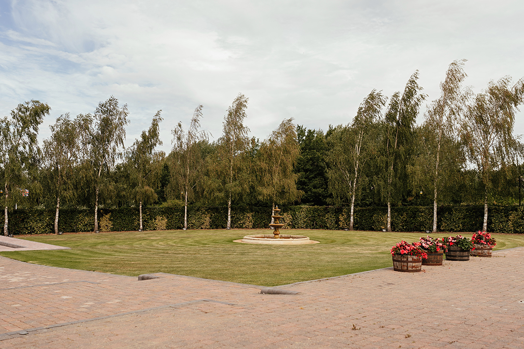 The Private Gardens at Crondon Park Wedding Venue