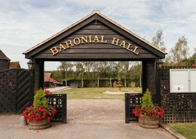 The famous Baronial Hall Pagoda