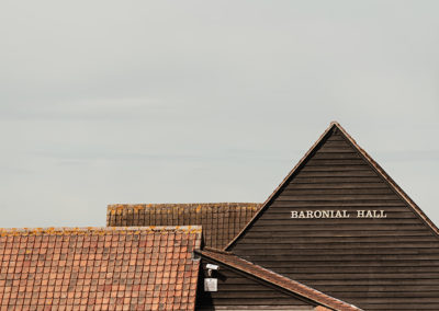 Top of Baronial Hall Crondon Park Essex