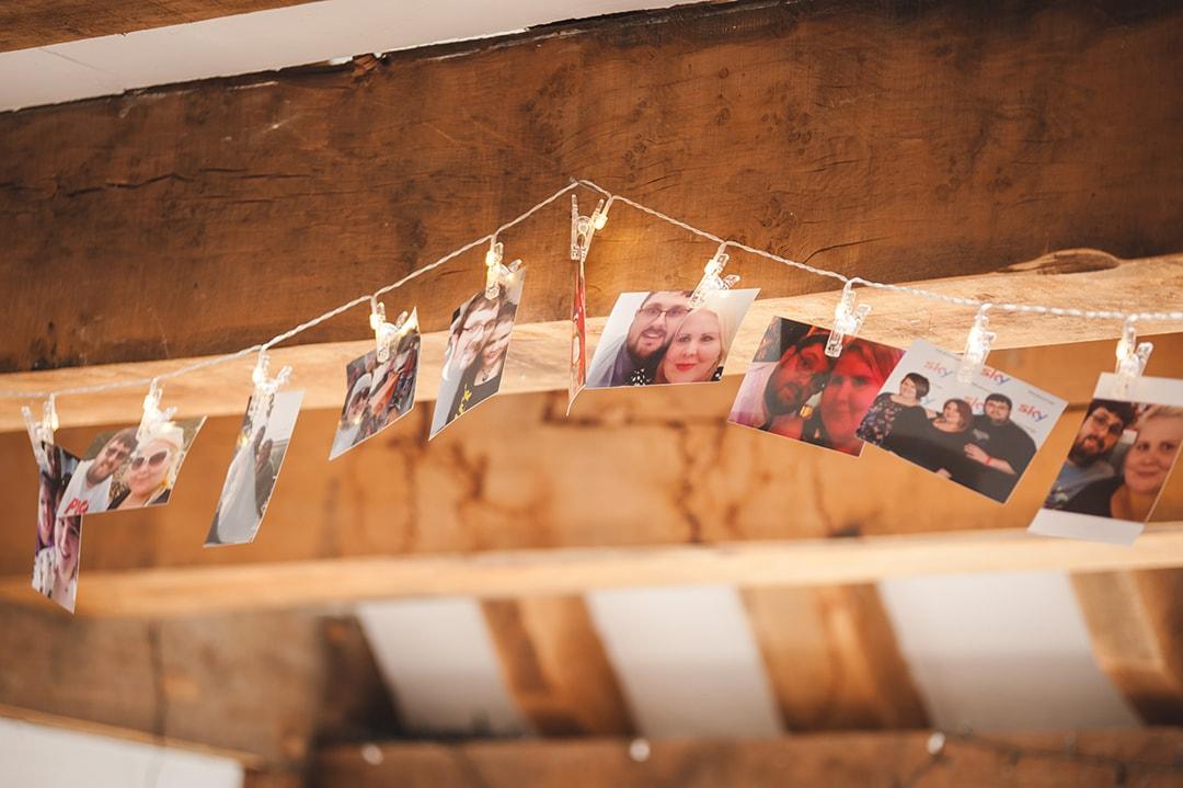 Intimate wedding ideas Photo memories at Boughton Golf Club