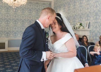 Wedding Ceremony Photography at Langtons House
