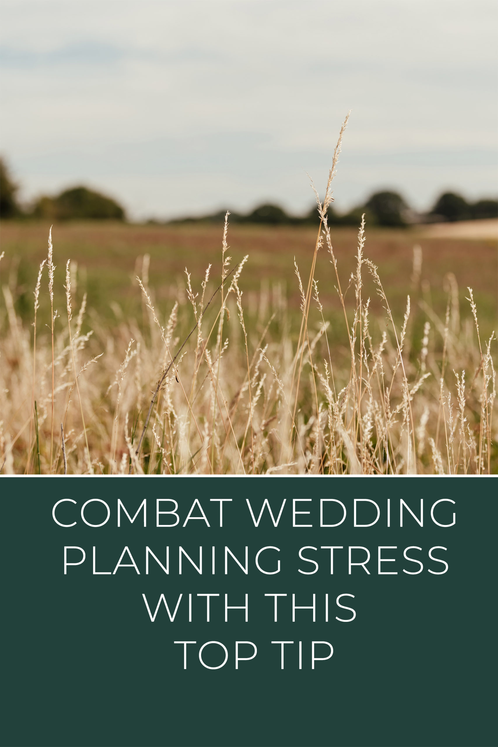 Combat Wedding Planning Stress with this Top Tip