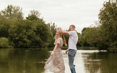 Stanborough Lake Pre Wedding Photoshoot – Sophie & Adam