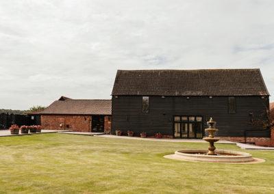 The Baronial Hall Barn at Crondon Park