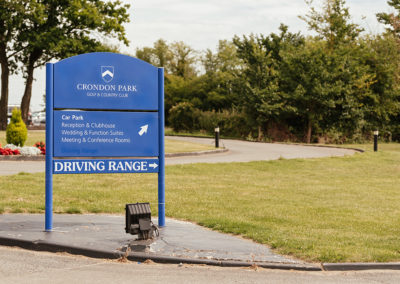Crondon Park Signage