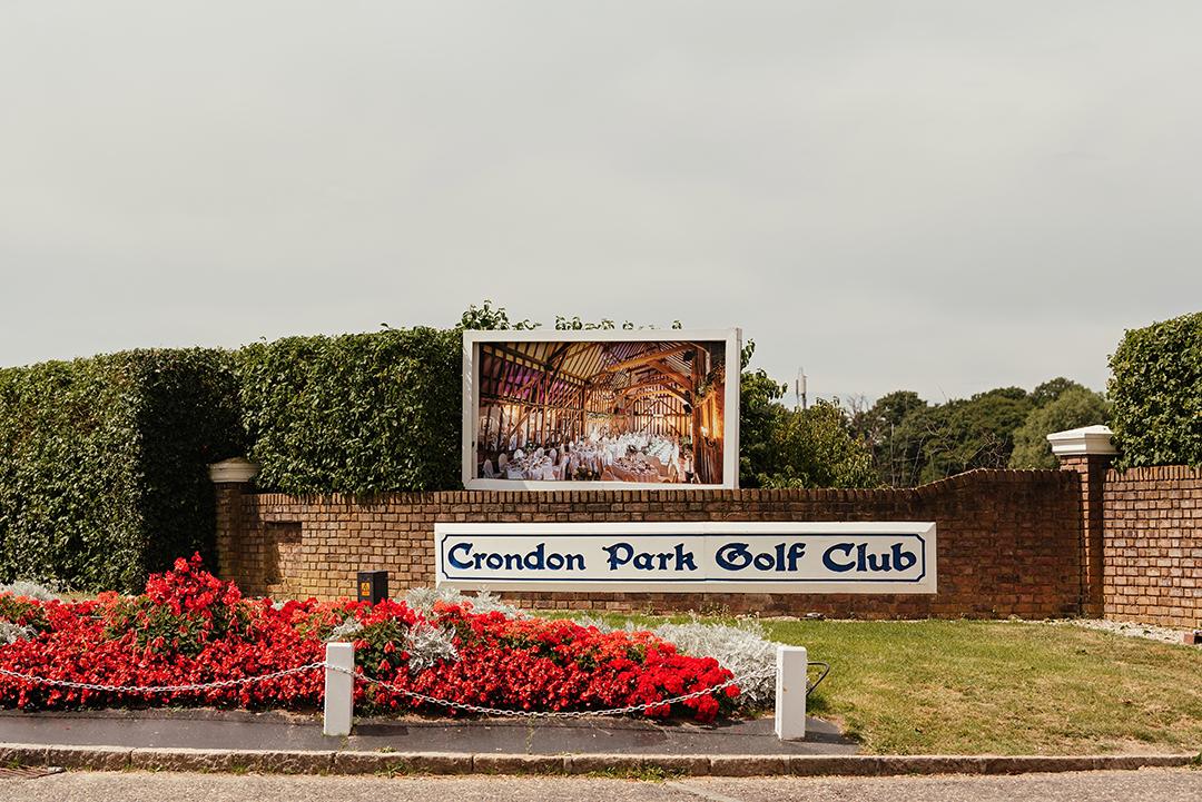 Entrance to Crondon Park Wedding Venue