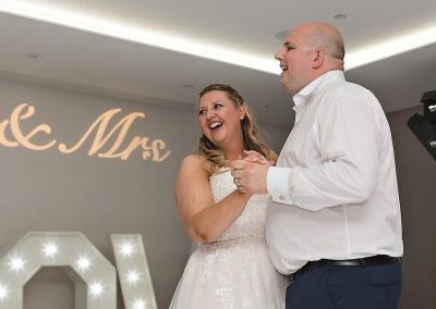 First Dance at Cheshunt Marriott Hotel