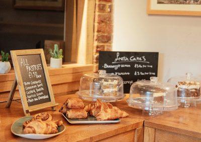 Fresh Pastries at Tewin Bury Farm Hotel Farm Shop