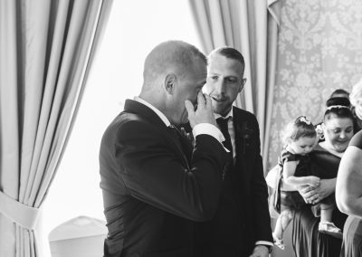 Groom Crying Reaction to seeing his bride at Langtons House