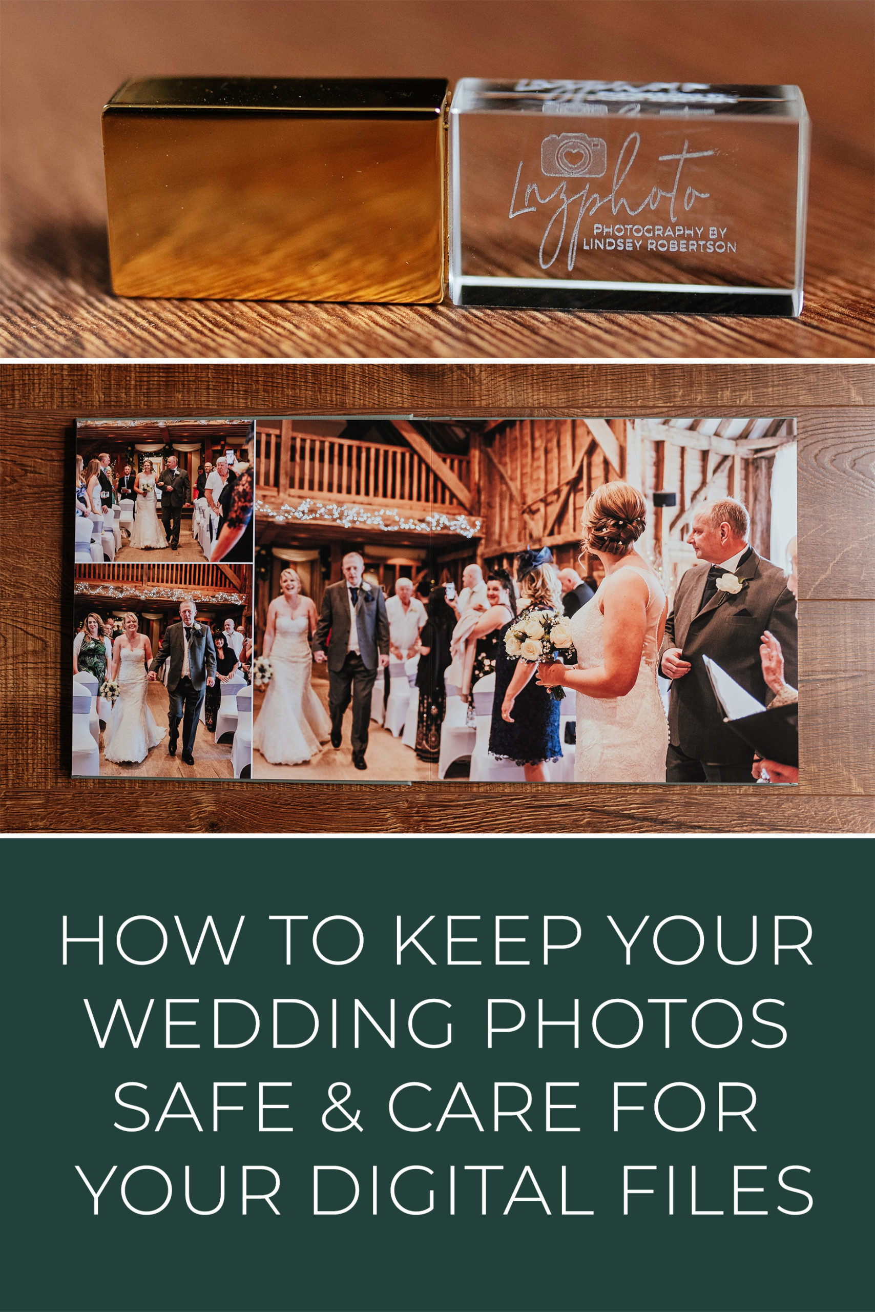 How to keep your wedding photos safe & care for your digital files
