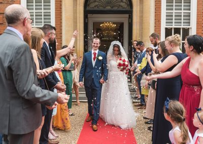 Confetti Photo at Hunton Park