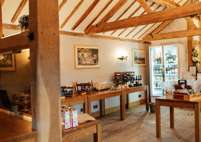 Inside The Farm Shop at Tewin Bury