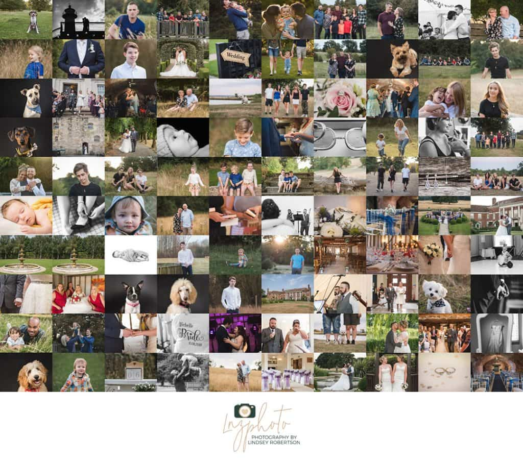 Looking back - A collage of best moments from 2018 by LNZPHOTO - Photography by Lindsey Robertson