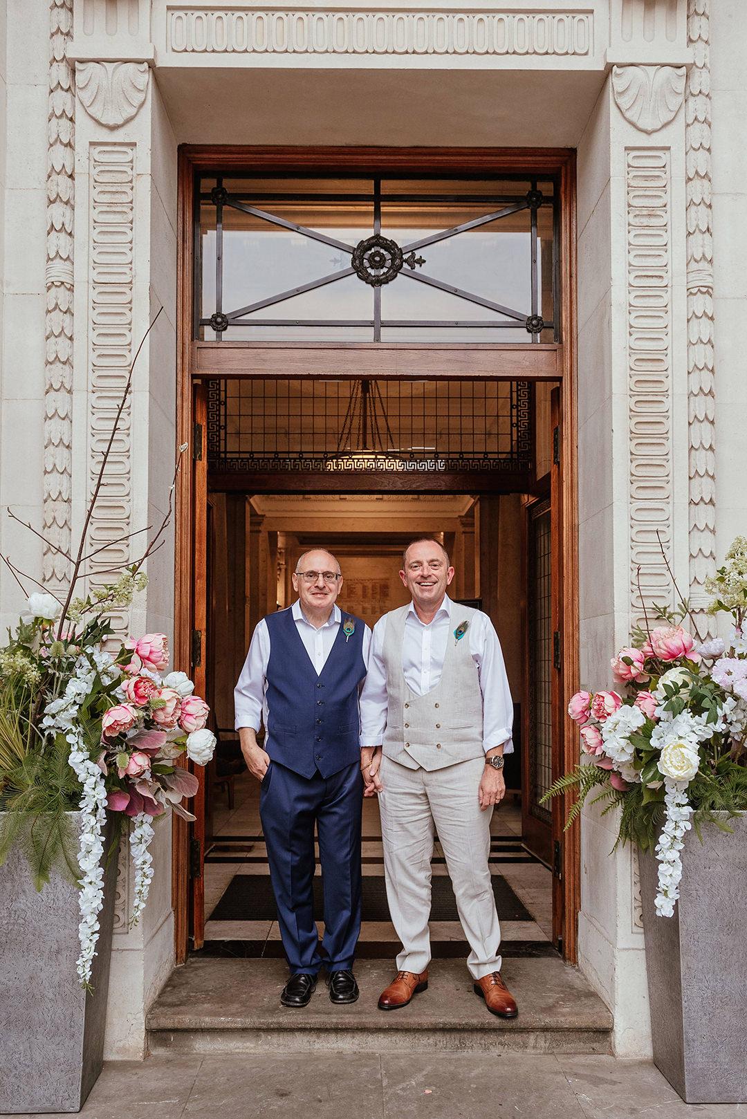 Mr and Mr Old Marylebone Town Hall Wedding