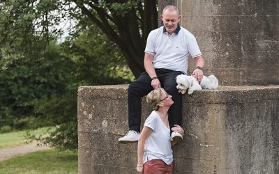 Couple's Photo Shoot with Your Dog! | Lisa, Gary & Lily