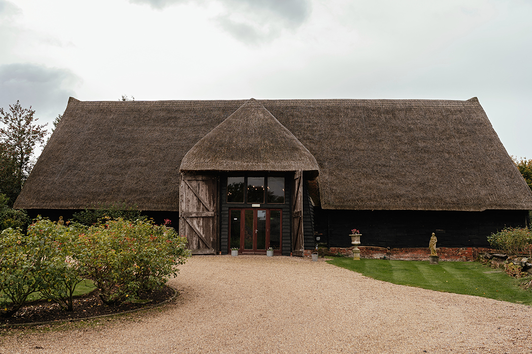 Orchard Barn at Colville Hall Wedding Venue