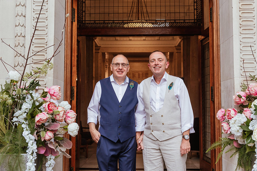 Same Sex Wedding Old Marylebone Town Hall Wedding