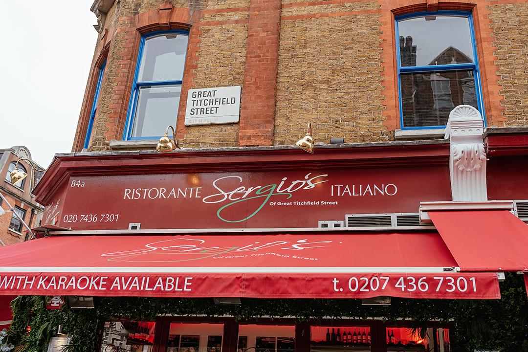 Sergio's Great Titchfield Street