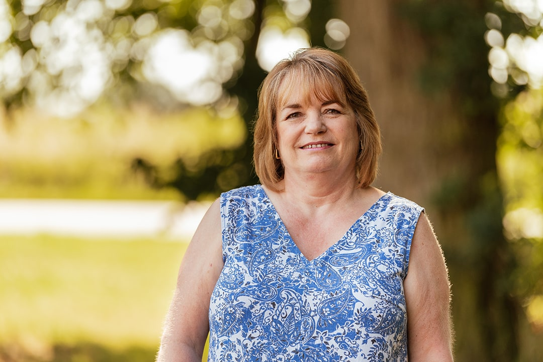 Close up Portrait of Liz, Pharmacy Assistant