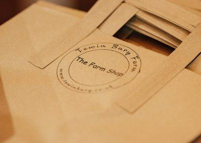 Tewin Bury Farm Hotel Farm Shop Bags