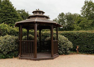 Tewin Bury Farm Hotel Farmhouse Gardens Gazebo