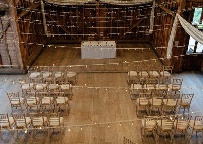 Tewin Bury Farm Wedding Ceremony The Tythe Barn