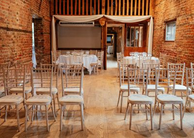 Tewin Bury Farm Wedding in The Stable