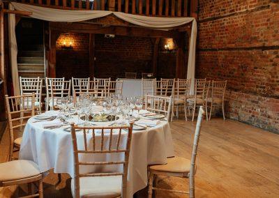 Tewin Bury Farm Wedding in The Stable Barn