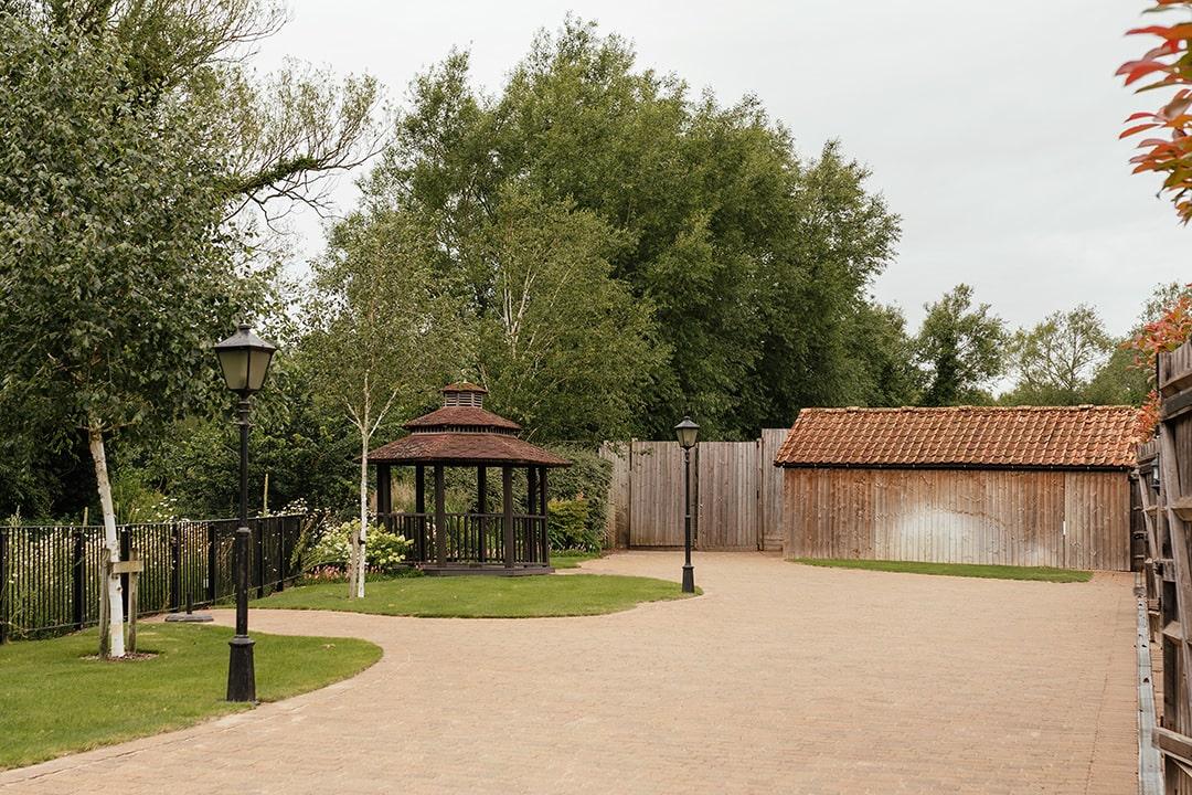 The Meadow Barn Riverside Garden at Tewin Bury