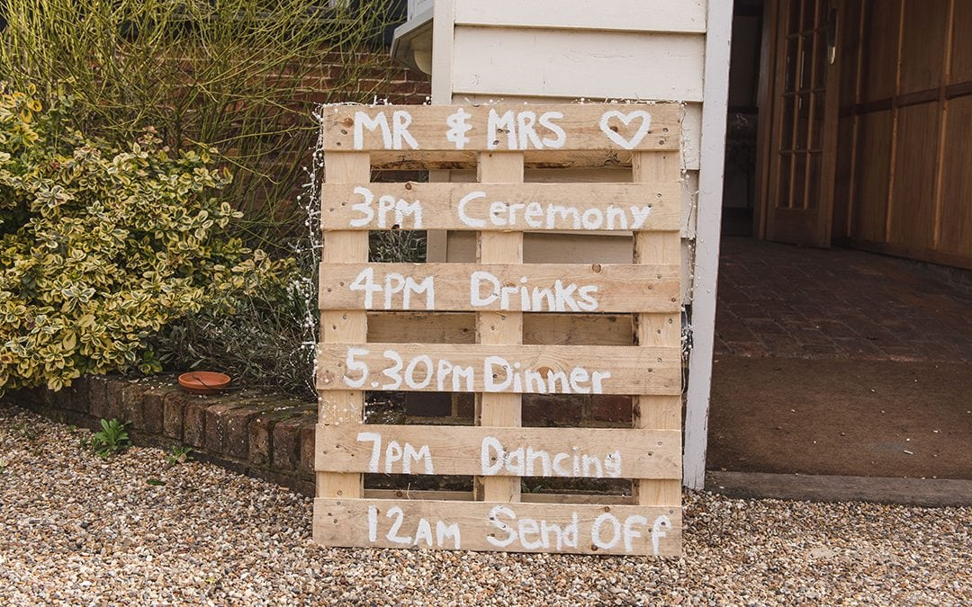 Wedding Timeline | A Guide on How to Run Your Wedding Day