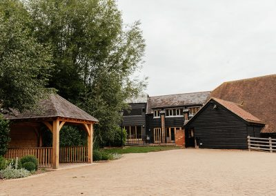 The Tythe Barn Garden Tewin Bury Farm Wedding