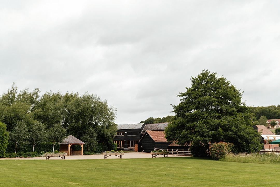 The Tythe Barn Gardens at Tewin Bury Farm