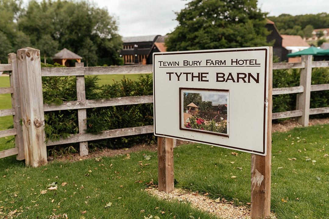 The Tythe Barn at Tewin Bury Farm Hotel
