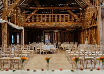 Tythe Barn Tewin Bury Farm Wedding Ceremony