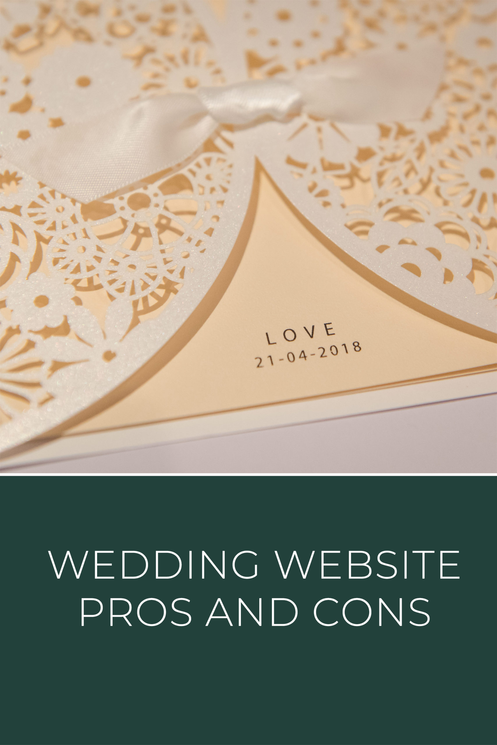 Wedding Website Pros and Cons