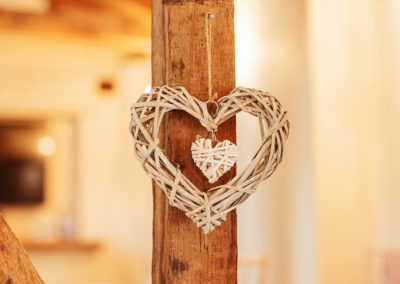 Wooden Heart Decor Crondon Park